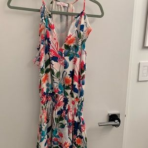 Parker floral ruffle dress Size XS